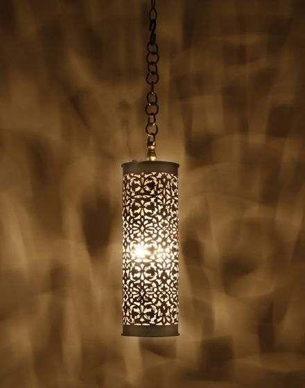 Sharit pendant nickel small moroccan lights and pendants small silver moroccan cylinder light aloadofball Images