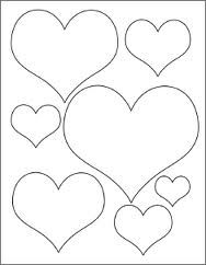 heart template google search stencils pinterest templates