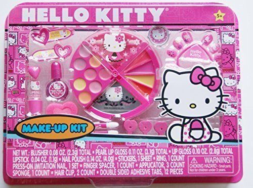 61b91b31e Hello Kitty Round Make-up Kit by Sanrio Childrens Play Makeup, New ...