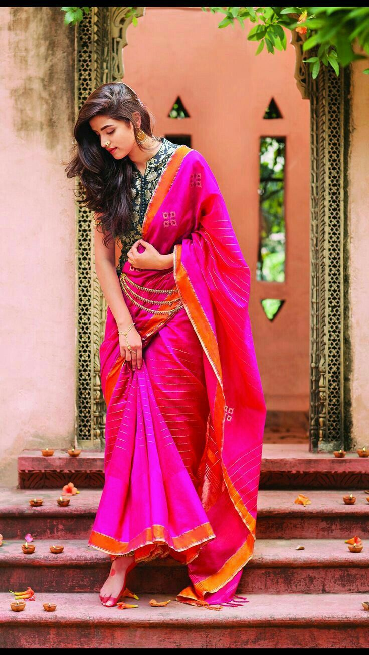 Pin On Sarees And Blouses