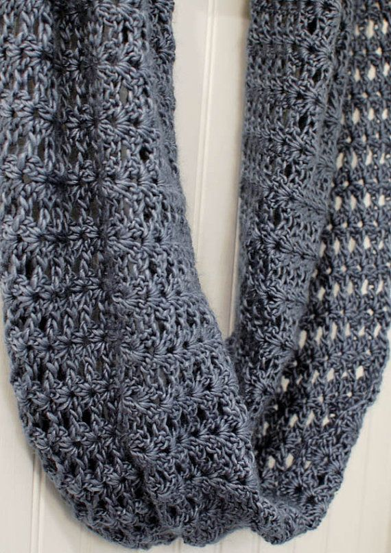 Crochet Pattern Mobius Infinity Scarf Wrap Pattern Includes