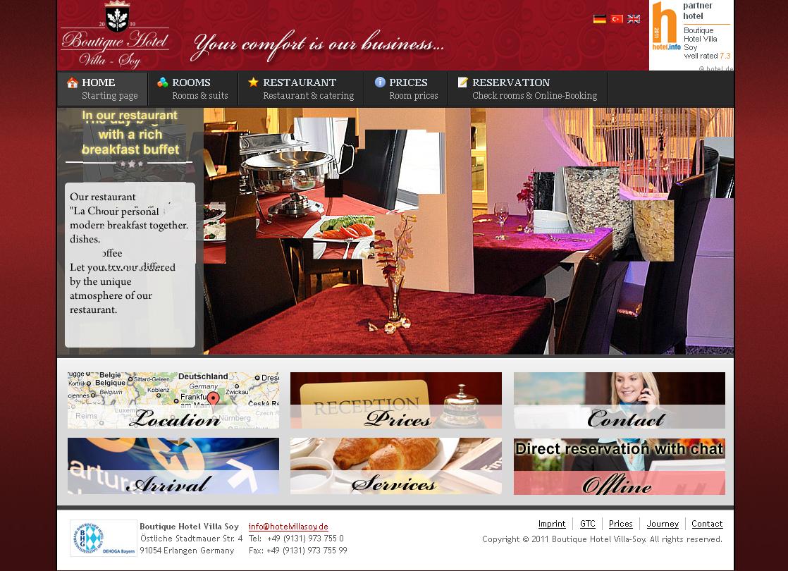 Pin By Joomlashine On Joomla Websites Hotel Website Joomla