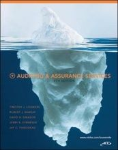 Auditing and Assurance Services - Pearson