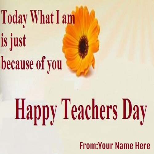 Happy Teachers Day Wishes Pictures With Quote Teachersday