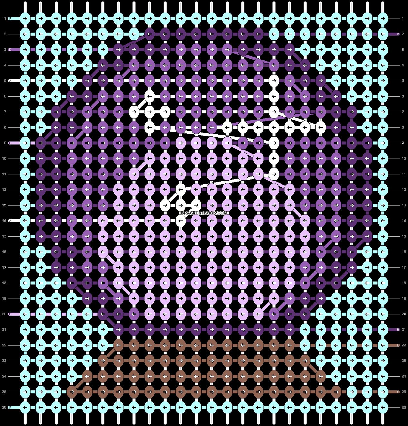 Alpha Pattern 53813 Braceletbook Alpha Patterns Cross Stitch Bookmarks Pattern