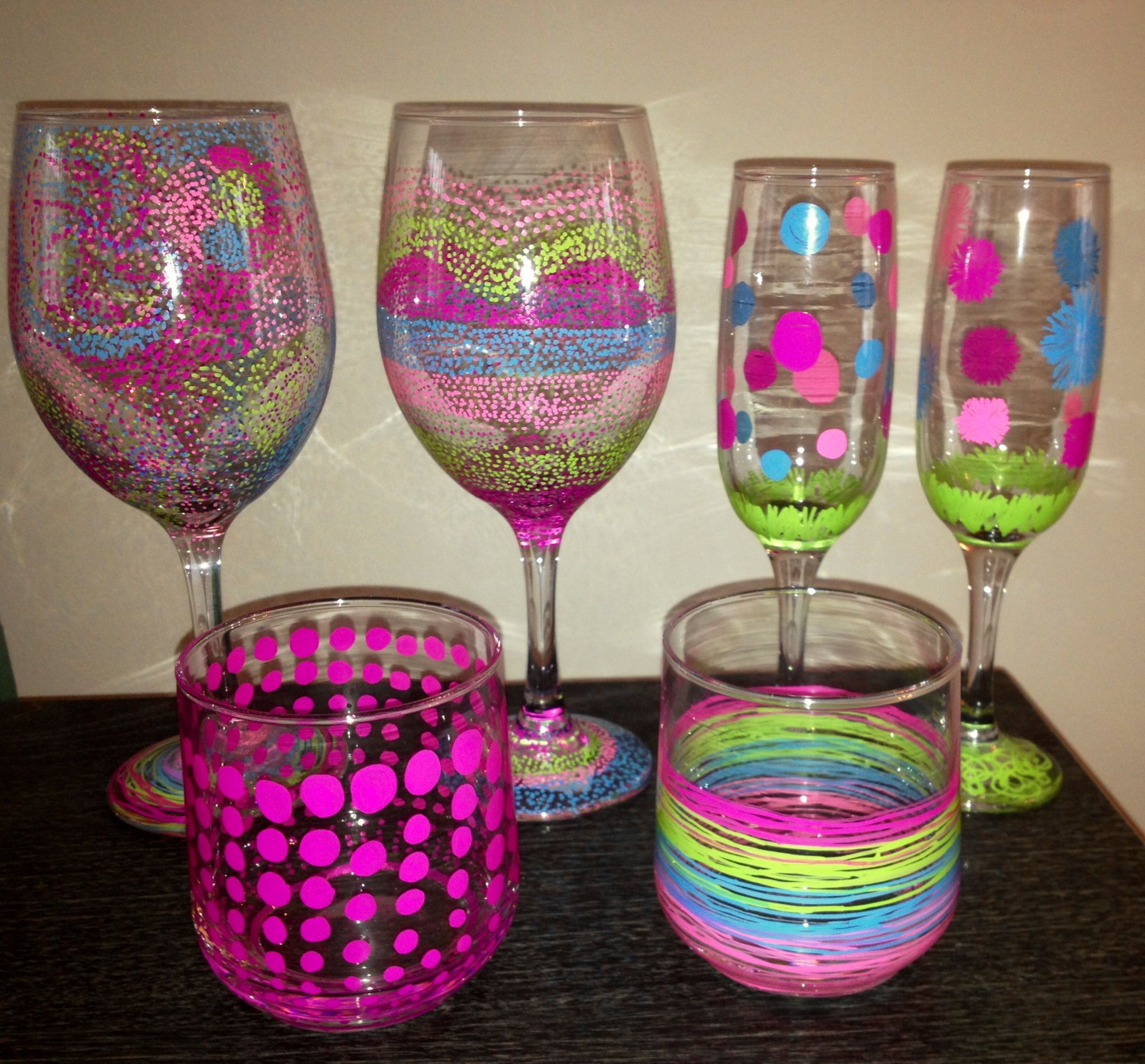 25 best ideas about sharpie wine glasses on pinterest ForHow To Decorate Wine Glasses With Sharpies
