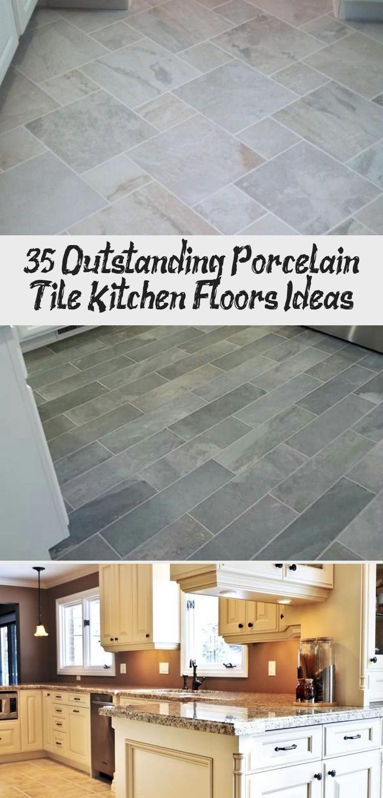 9+ Outstanding Porcelain Tile Kitchen Floors Ideas   Decoration ...