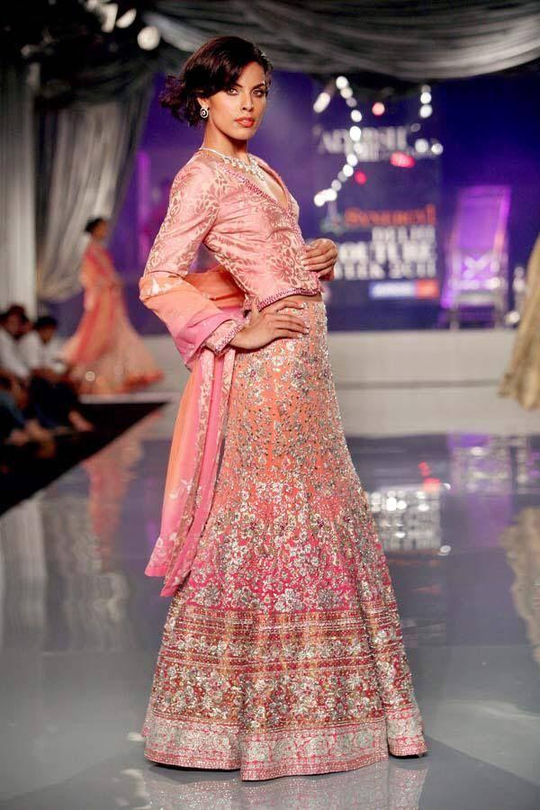 Stunning Pink #IndianWedding #Lehenga by Adarsh Gill https://www ...