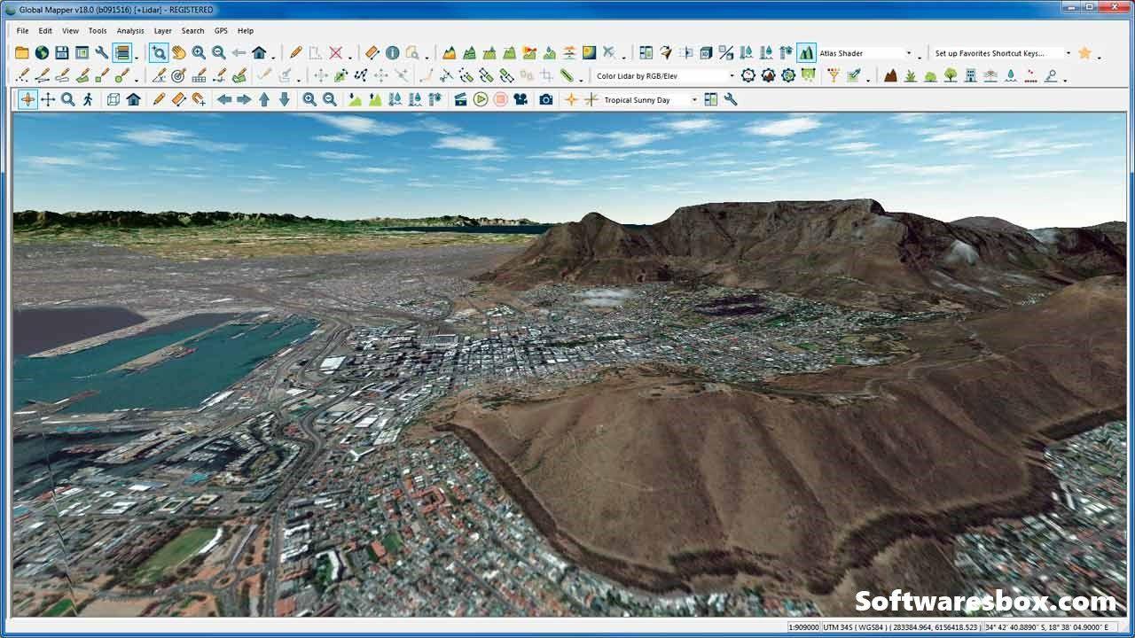 global mapper full español