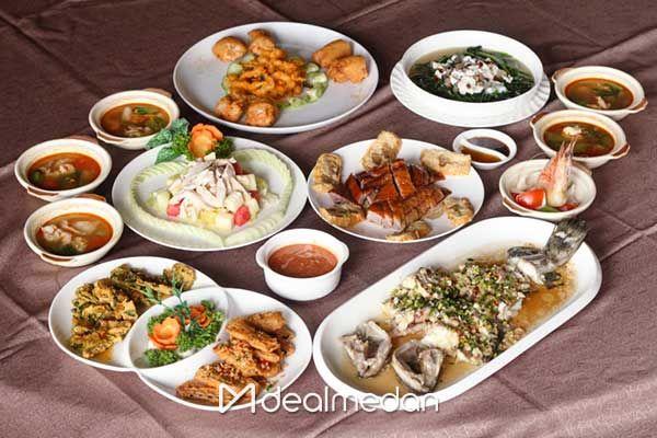 Dinner Set Menu Untuk Ber 4 6 8 10 Di Golden Dragon Restaurant Makanan Makanan Minuman