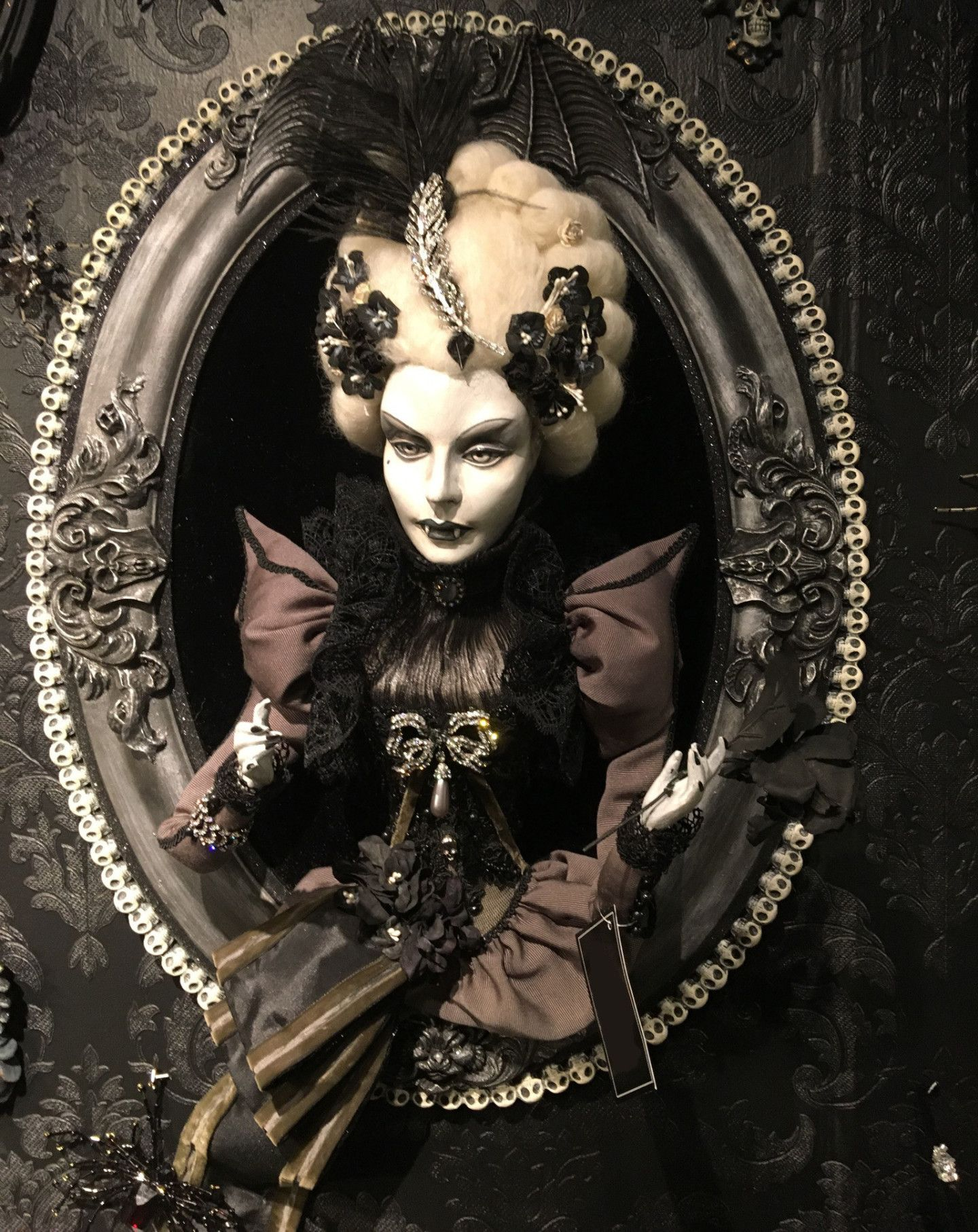 Countess Vloodmyr Vampire Portrait | Halloween art ...