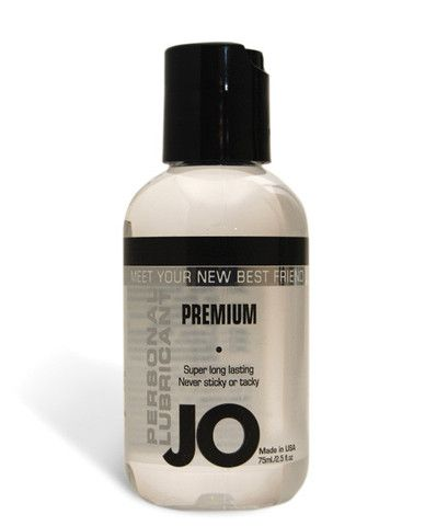 System Jo Personal Silicone Lubricant - Meet Jo - the personal lubricant you need for the most sexual satisfaction. This long lasting, fragrance free, latex safe, Vitamin E, Silicone-based lube provides a silky, wet feeling without any stickiness. Enhance your pleasure every time you play with Jo. Bottle includes 2 oz. of personal lubricant.