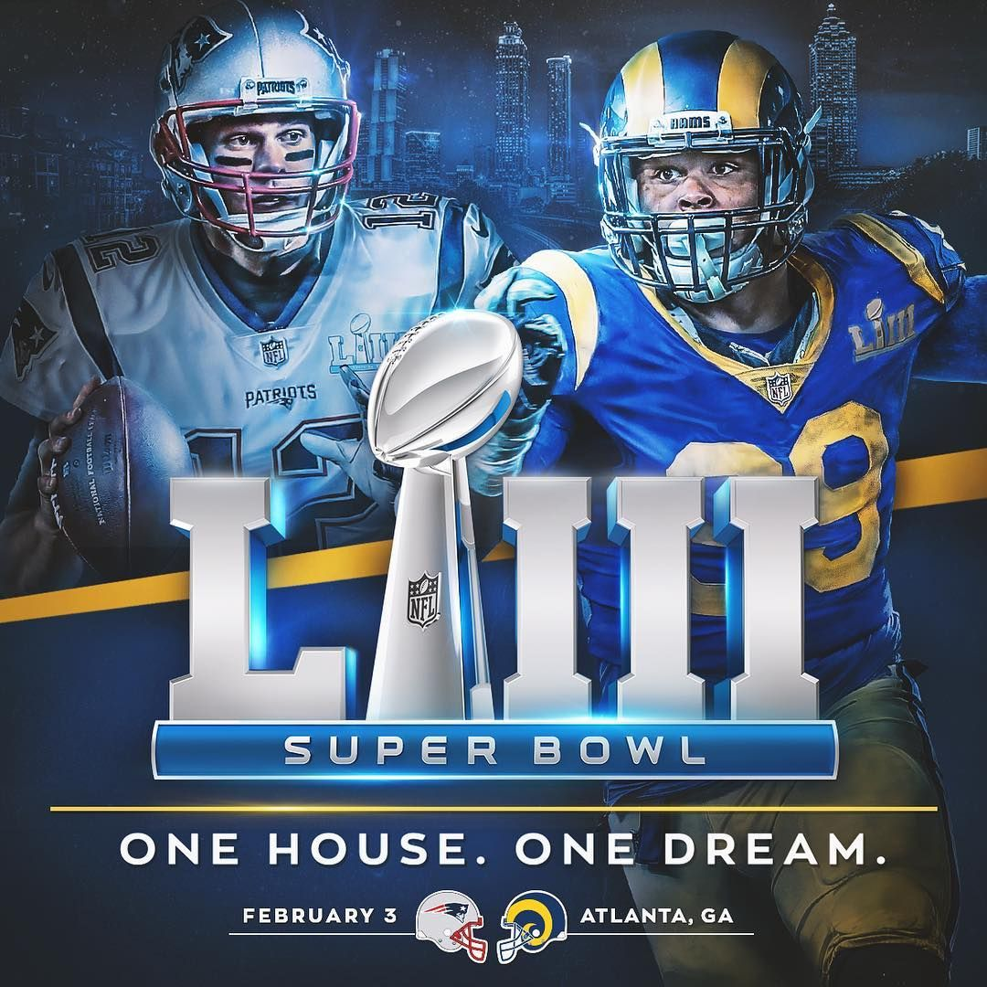Los Angeles Rams On Instagram And Then There Were Two Patriots Vs Larams For The Lombardi Los Angeles Rams Sports Design Inspiration Super Bowl