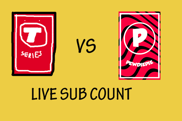 T Series Vs Pewdiepie Live Sub Count Get Details From This Post Sub Count Live Sub Count Add Music To Video