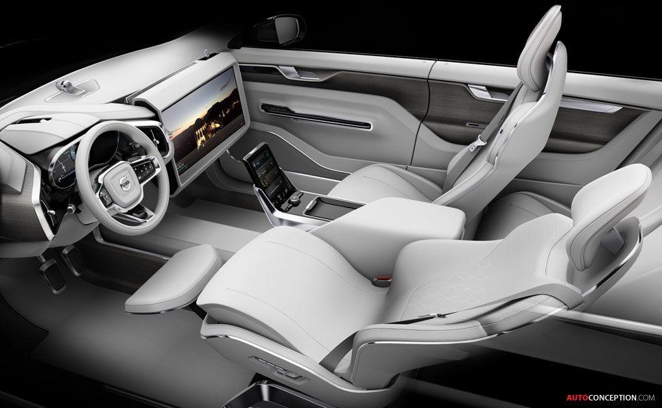 volvo 39 concept 26 39 autonomous car interior study sketch interio pinterest car interiors. Black Bedroom Furniture Sets. Home Design Ideas