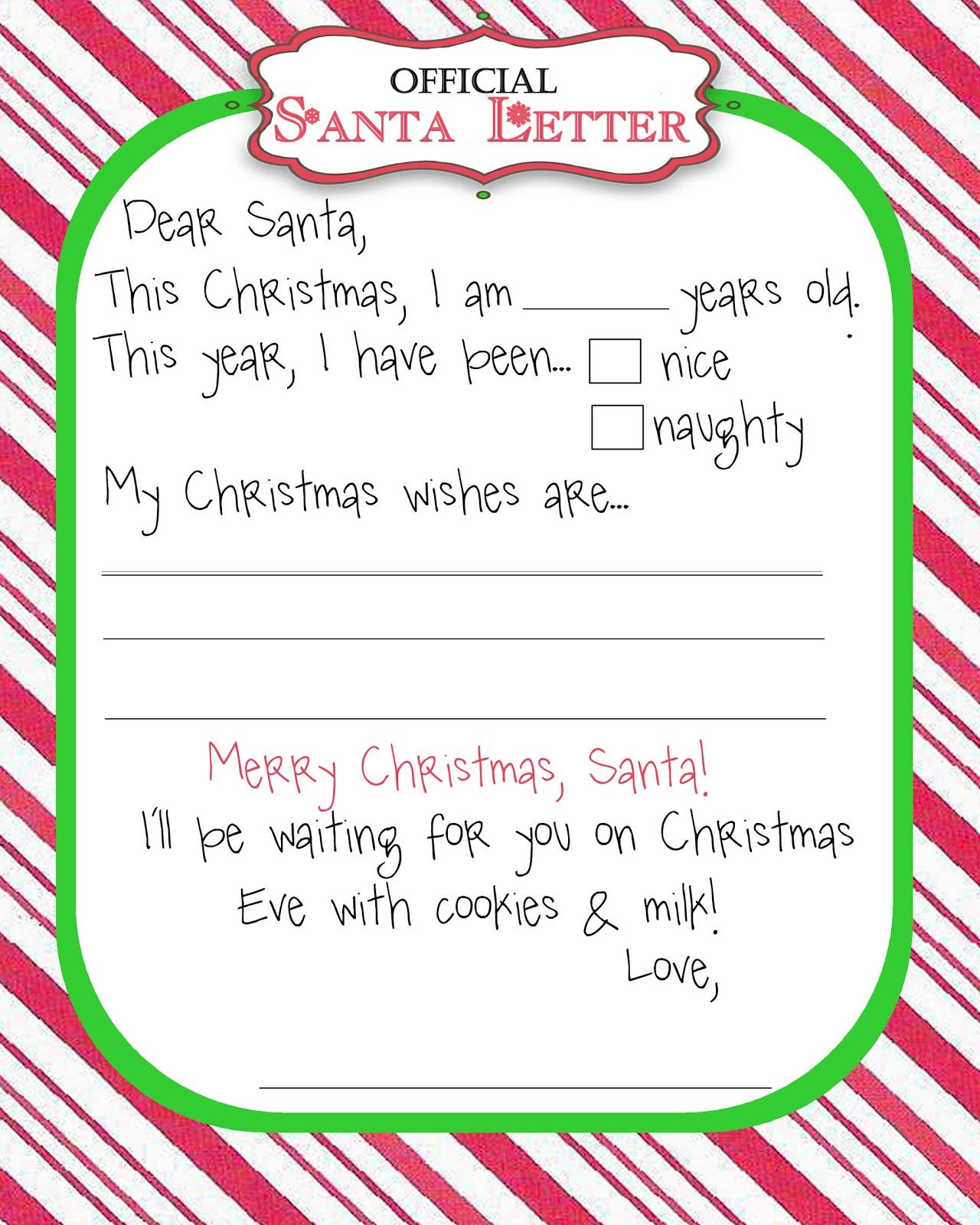 Since This Is The First Christmas That Noah Can Write A Letter