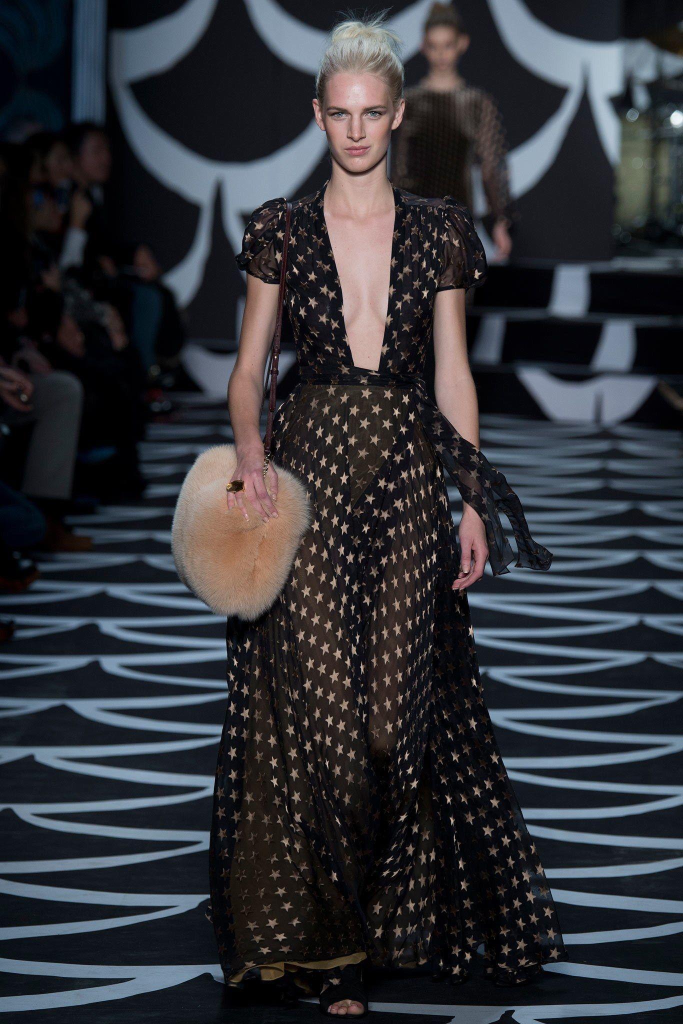 Diane von Furstenberg Fall 2014 Ready-to-Wear Fashion Show - Ashleigh Good