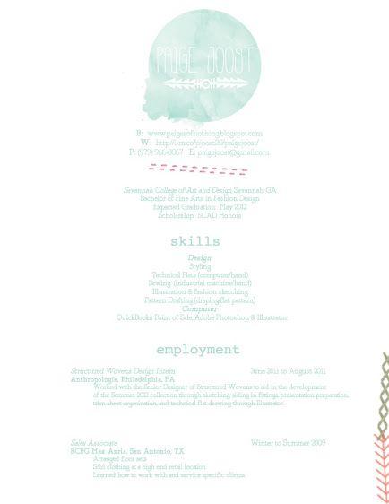 fashion resume ideas Pinterest Fashion resume, Creative cv - advertising resume