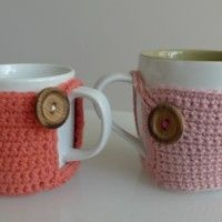 Crochet Cup Cozy Tutorial
