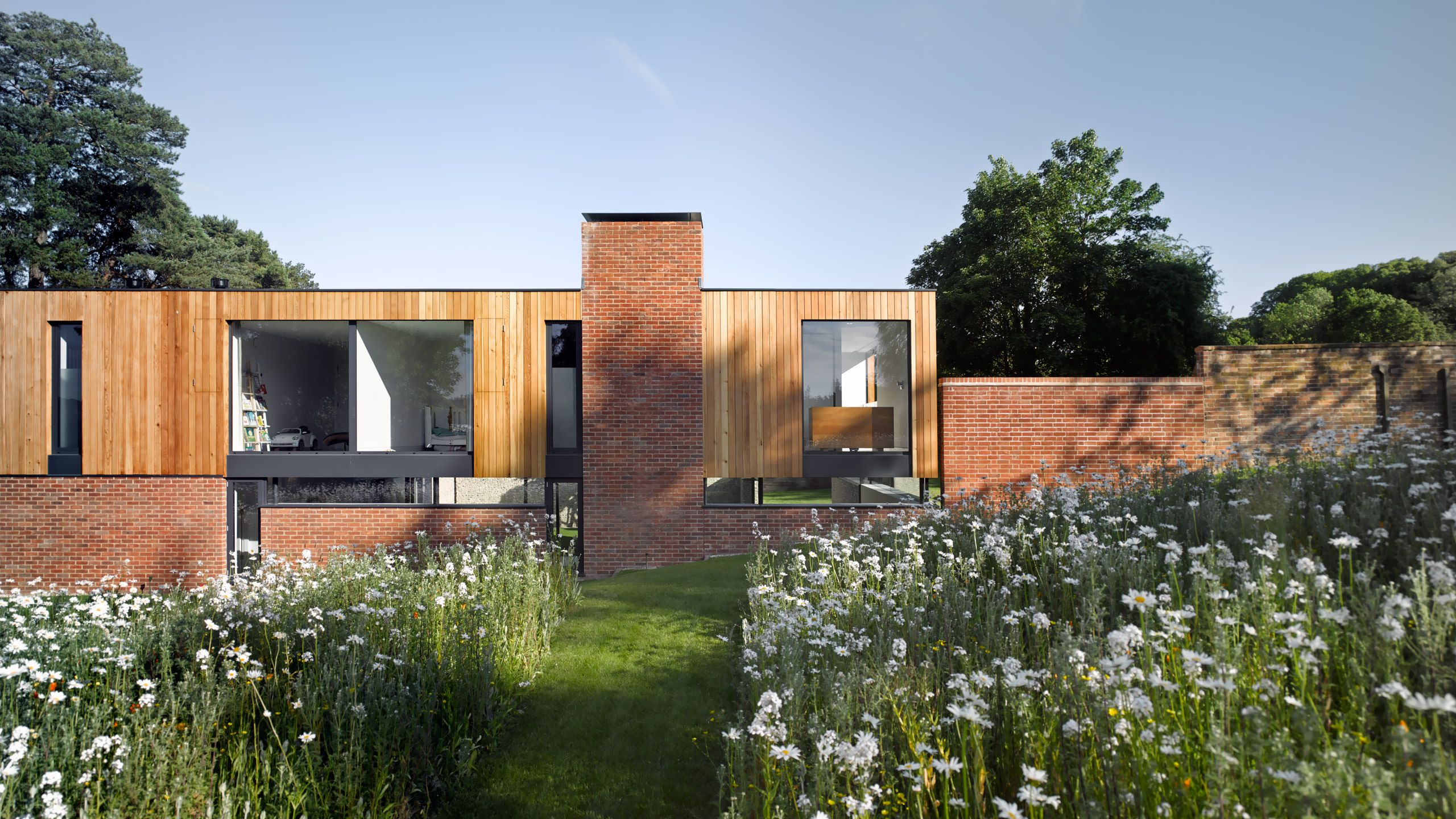 704ebac51fe A wonderful one-acre walled garden forms the main part of the site ...