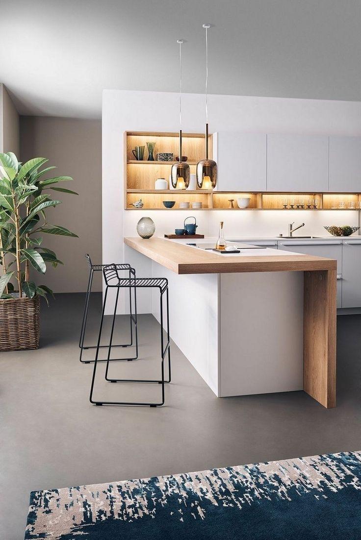 37 Beste Moderne Kuchenideen Die Sie Traumen Diy Tipps Kuchenschranke Kuchendesign Wohnung Kuche Moderne Kuche