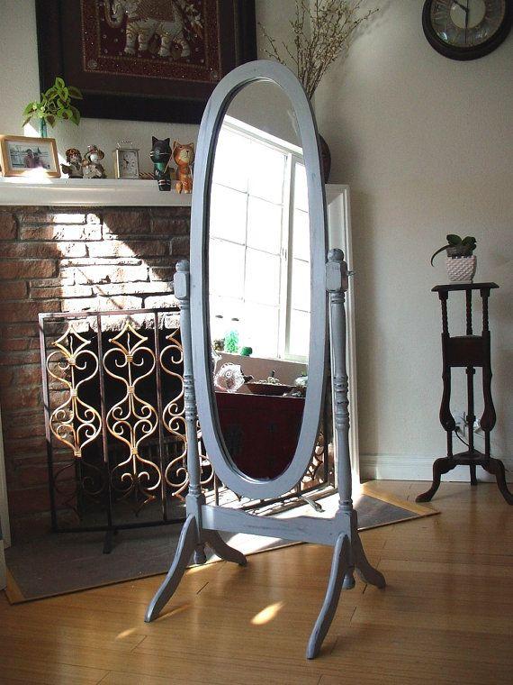 Floor Standing Mirror, Free Standing Swivel Mirror