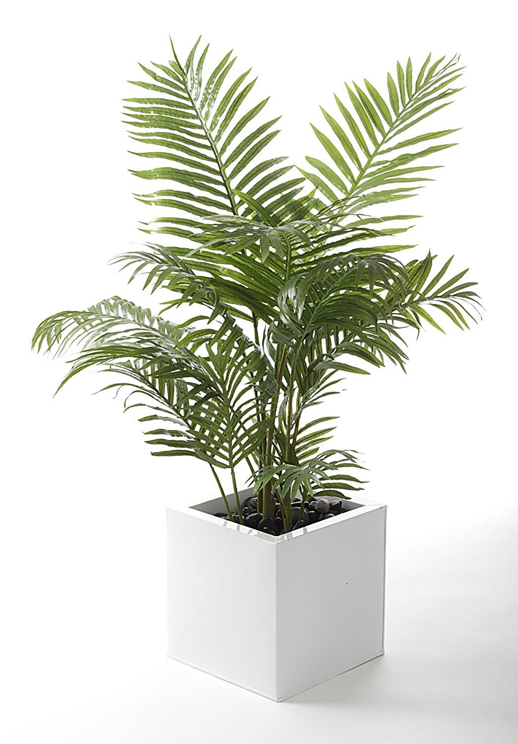 Artificial plants for kitchen - Closer To Nature 4 Ft Artificial Areca Palm Tree Amazon Co Uk