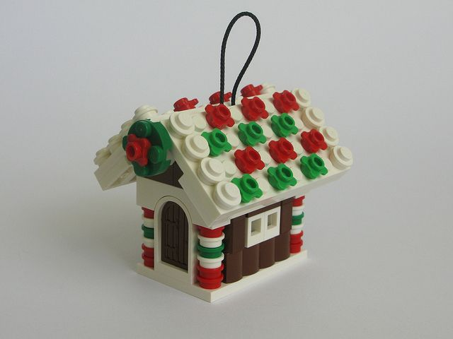 Gingerbread House Ornament Lego Christmas Ornaments Lego Gingerbread House Lego Ornaments