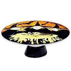 Conjure up the spirit of Halloween by serving treats on this Cake Plate from Certified International\u0027s Eat Drink and Be Scary Collection.  sc 1 st  Pinterest & Eat Drink \u0026 Be Scary Cake Stand $28.99 www.cakestandsgallery.com ...