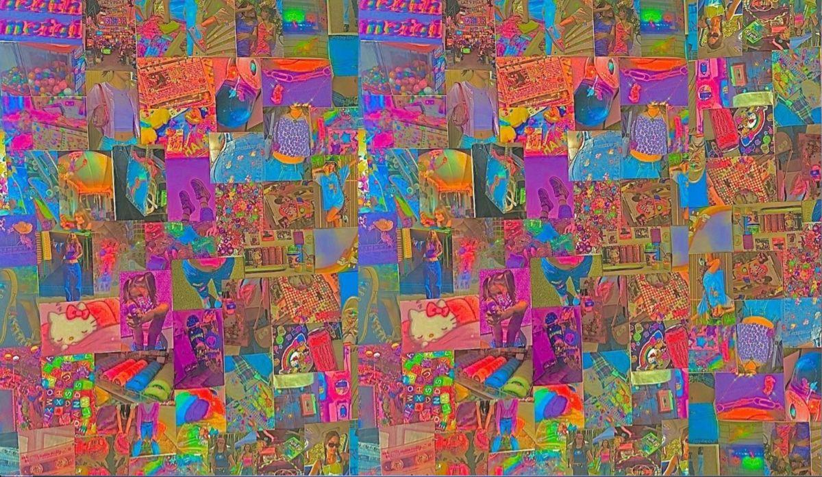 Indie Kidcore Laptop Wallpaper 3784 X 2193 Hippie Wallpaper Laptop Wallpaper Desktop Wallpaper Art