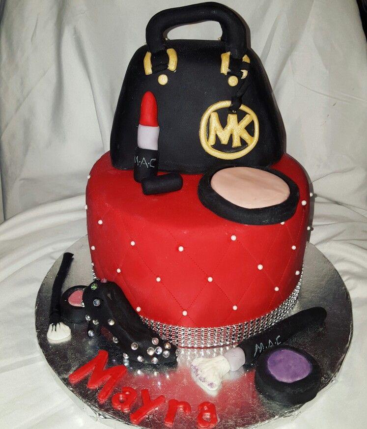 Favorite things cake Diva cake MK Purse cake My cakes