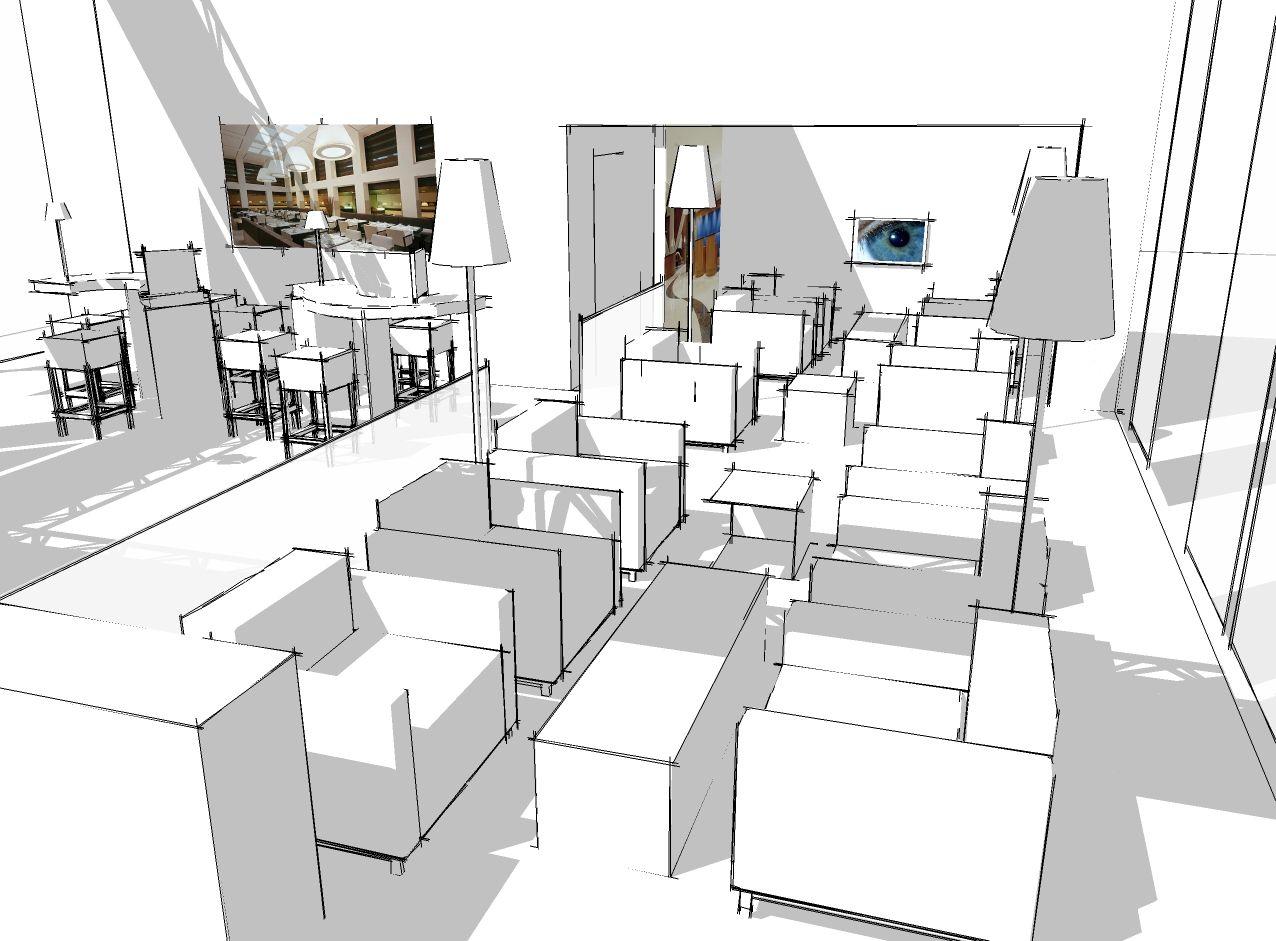 sketch messestand Accor - rolf pauw | Sketchbook Atelier Rolf Pauw ...