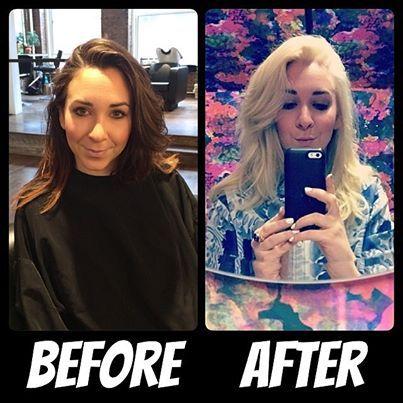 Changes! #blondeambition @Julie Gershenson #lenaottcolor @MARLENA OTT #suitecarolinebeforeandafter #suitecaroline