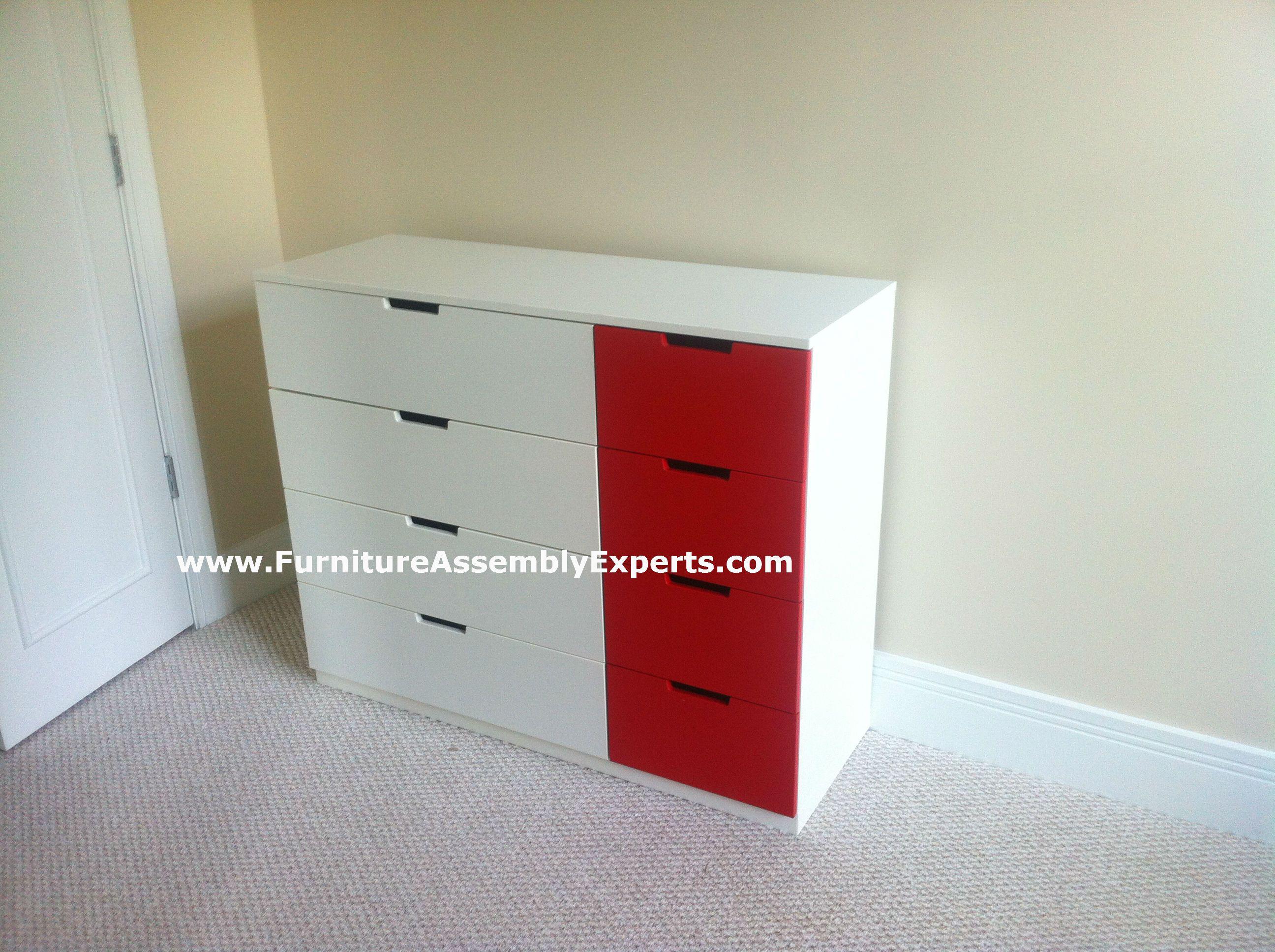 Ikea nordli 8 drawer dresser assembled in arlington va by for Ikea arlington va