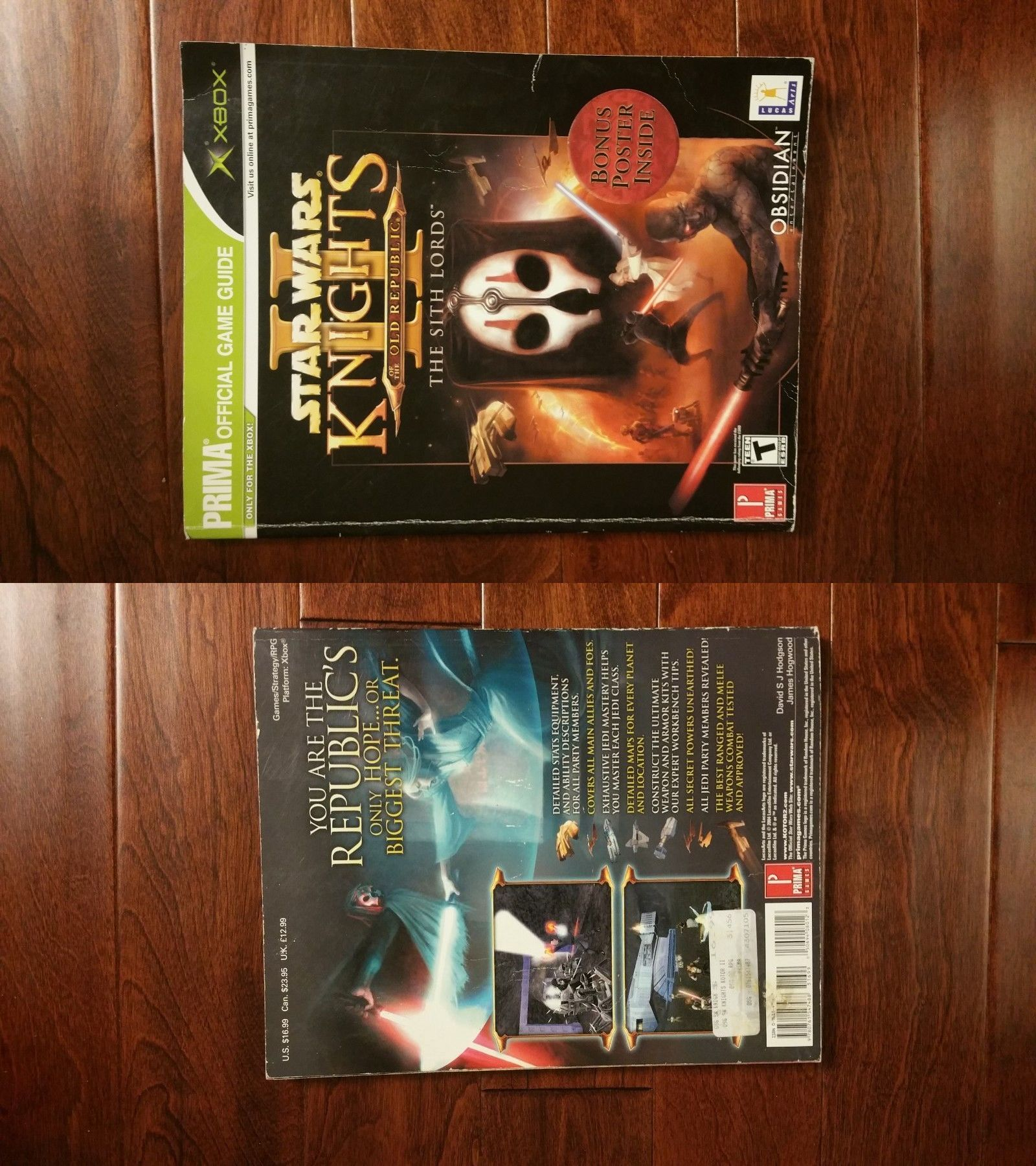 Strategy Guides and Cheats 156595: Star Wars Knights Of The Old