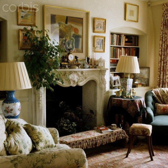 Decorating With Louis Xv Style French Mantles English Cottage