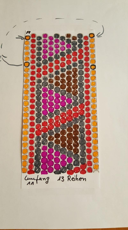 Can use this pattern for PWAT | cordón peytwist | Pinterest | Cordones