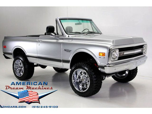 1970 K5 Blazer V8 4spd Full Convertible 350 Ps Pb Xd Chrome 80