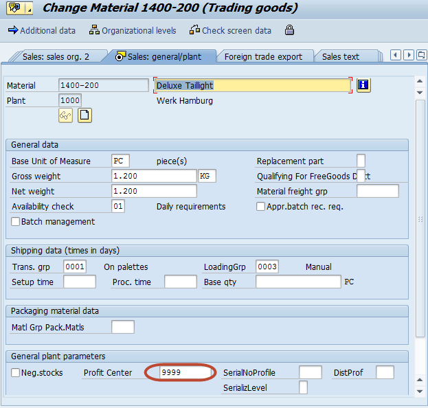 How to assign materials to profit center in SAP | SAP CO