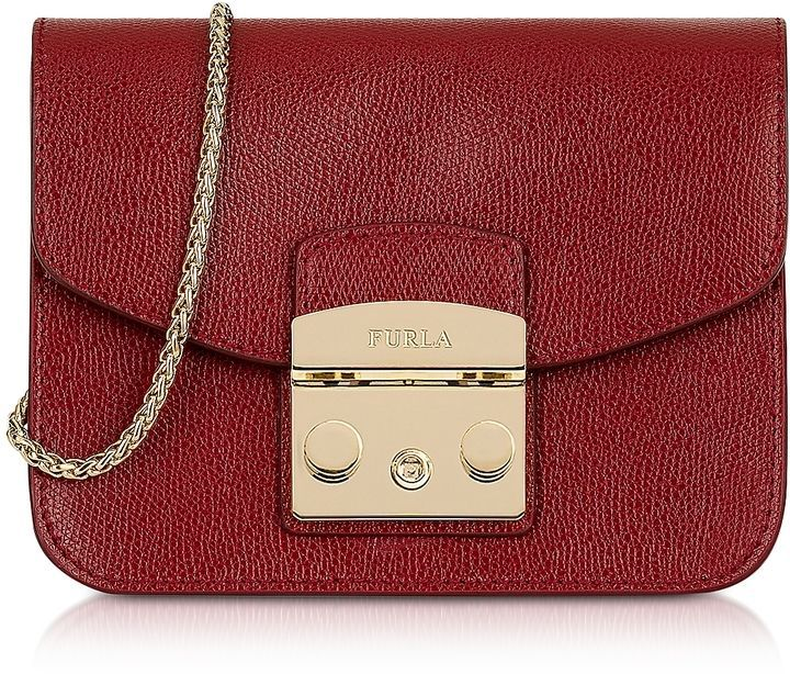 Furla Cherry Leather Metropolis Mini Crossbody Bag  red  bags ... 22d7e0fa71