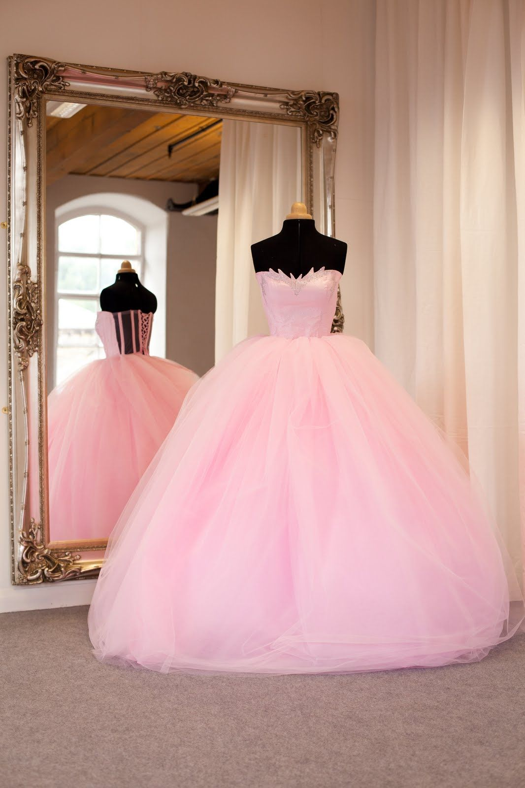 Pin de ASHLEY Rosalez en dresses | Pinterest | Vestido rosado ...