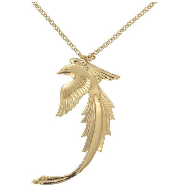 Zoe and morgan gold plated bird of paradise necklace 270 liked zoe and morgan gold plated bird of paradise necklace 270 liked on polyvore aloadofball Images