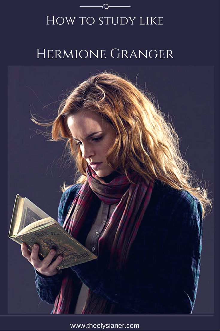 how to study like hermione granger studytips backtoschool hermione study the boy who lived. Black Bedroom Furniture Sets. Home Design Ideas