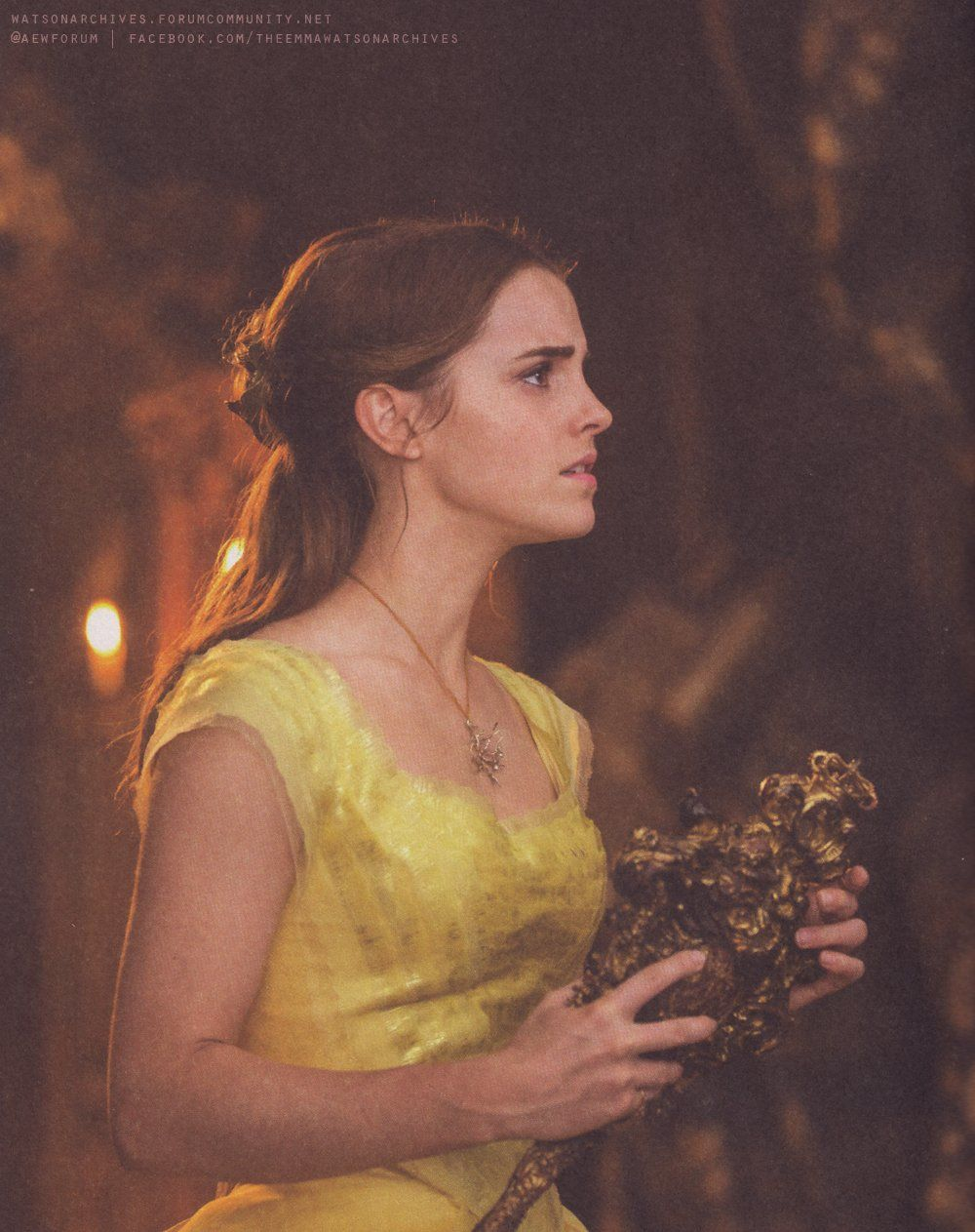 Emma Watson As Belle From The New LIVE Action Beauty And Beast After