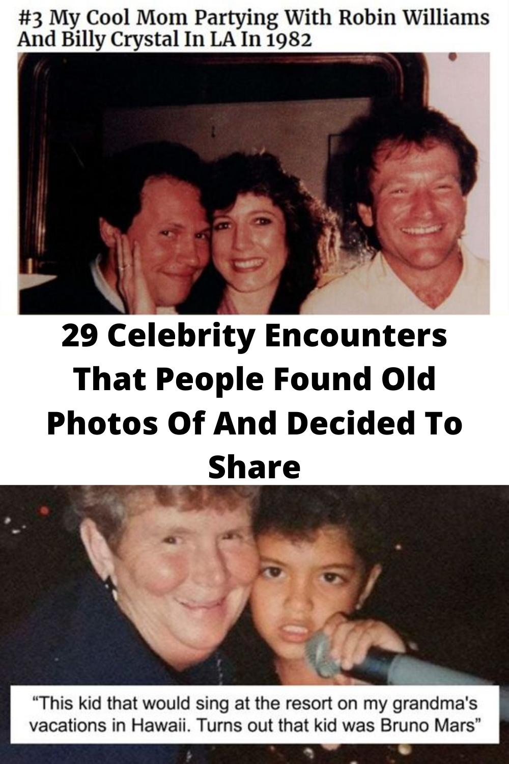 29 #Celebrity Encounters That #People #Found Old Photos Of And #Decided To #Share