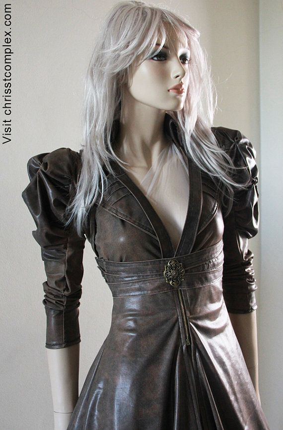 Leather SteamPunk Jacket Man! if only I could afford the style that I love.