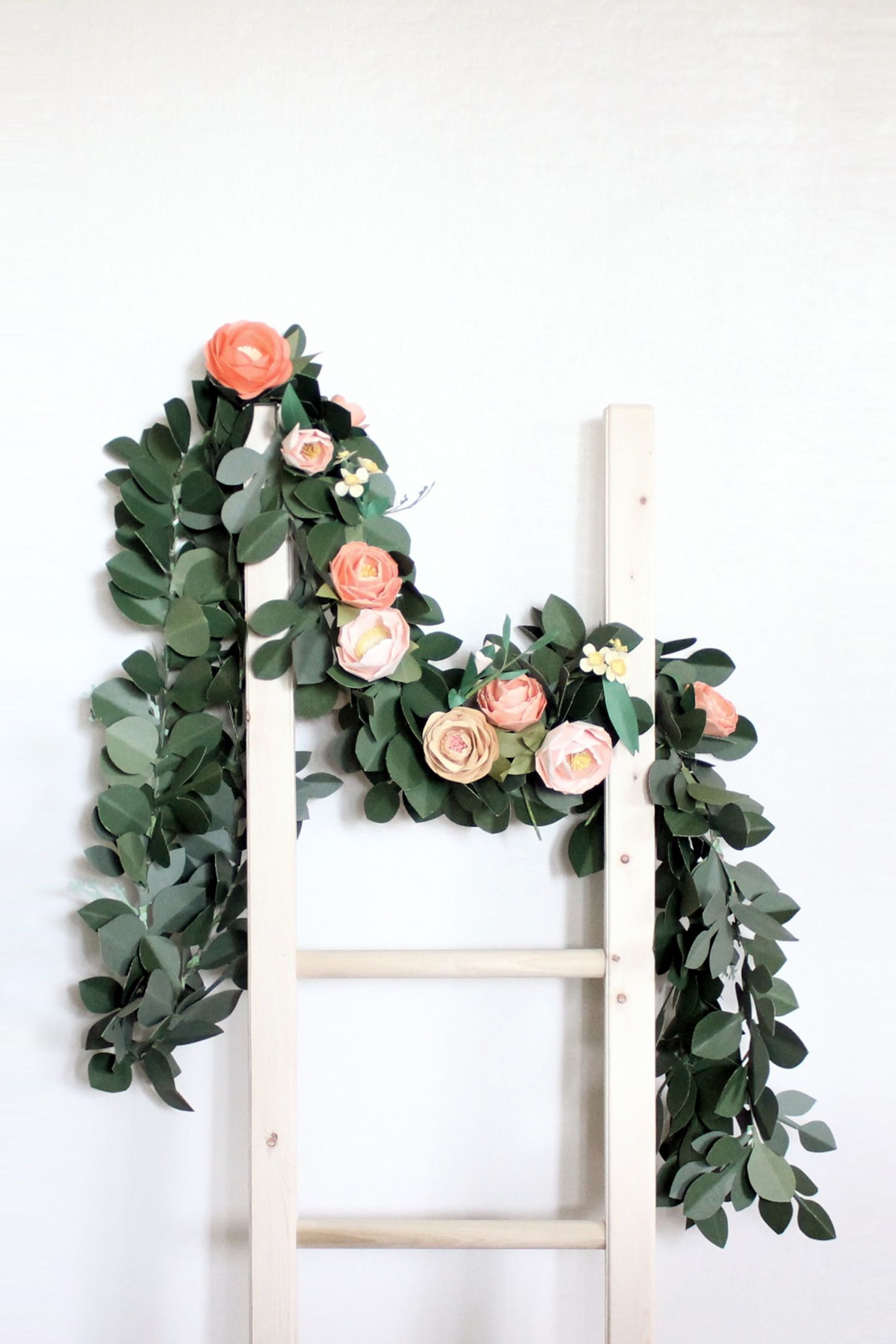 Paper Leaves Garland — Handmade by Sara Kim … (With images