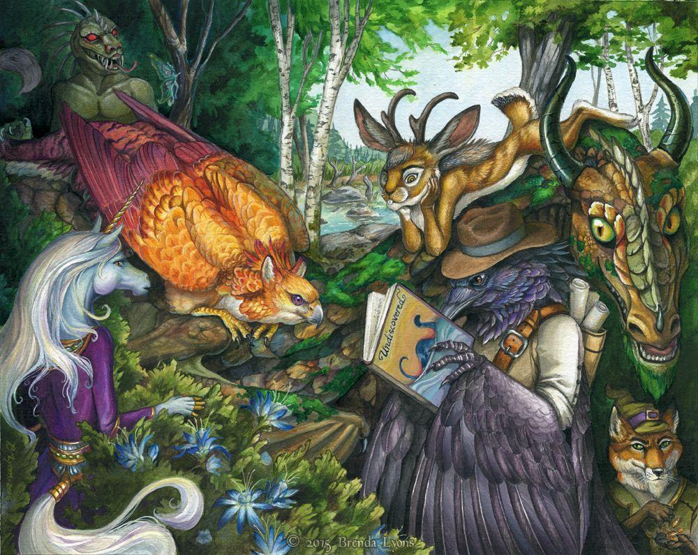 Undiscovered par Brenda Lyons - Falcon Lune studio