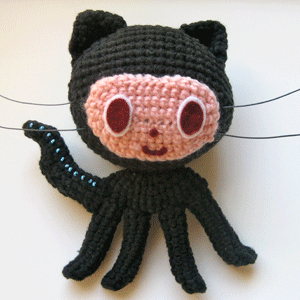 Neopolitan crochet cat I made from Nekoyama's pattern. :D #amineko ... | 300x300