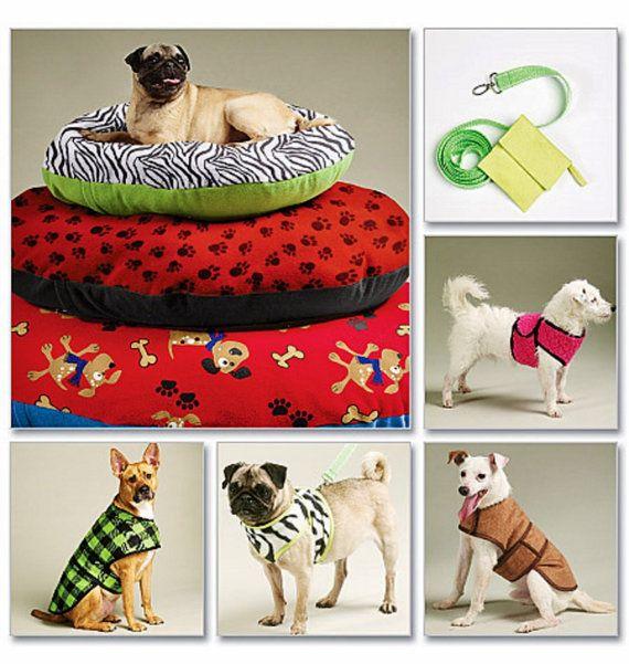Dog Coat Pattern Dog Bed Pattern Harness Vest Pattern Dog Leash
